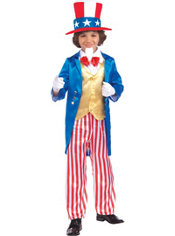 Boys Uncle Sam Costume Deluxe