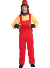Adult Clash Musical Monkey Costume