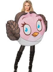 Adult Princess Leia Angry Birds Star Wars Costume
