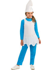 Girls Smurfette Costume - The Smurfs 2
