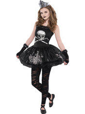 Girls Zomberina Costume