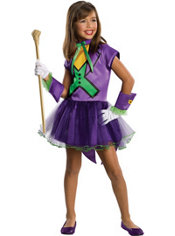 Girls Joker Tutu Costume - Batman