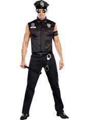 Adult Officer Dirty Cop Costume