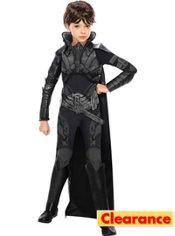 Girls Faora Costume Deluxe Man of Steel - Superman