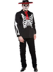 Adult Diego of the Dead Costume Plus Size