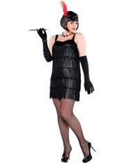 Adult Flashy Flapper Costume Plus Size