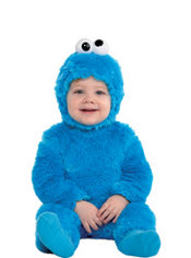 Toddler Boys Light Up Cookie Monster Costume - Sesame Street