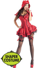 Adult Devil Body Shaper Costume
