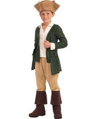 Boys Paul Revere Costume