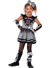Girls Scare U Cheerleader Costume