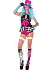 Adult Misfit Mad Hatter Costume