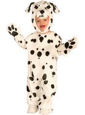 Toddler Boys Plush Dalmatian Costume