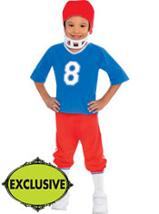 Boys Little Linebacker Football Costume