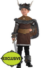 Boys Viking Warrior Costume