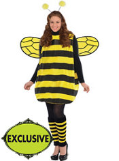 Adult Darling Bee Costume Plus Size