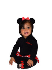 Baby Minnie Mouse One-Piece Pajamas