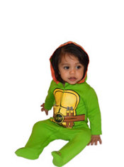Baby Teenage Mutant Ninja Turtles One-Piece Pajamas