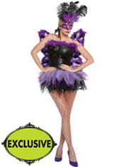 Adult Purple Passion Costume