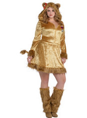 Adult Sexy Lioness Costume Plus Size