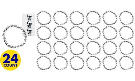 Skull Bracelets 24ct
