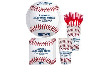MLB Rawlings Baseball Party Supplies amp Decorations City