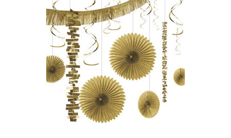 decorating kits - Gold Decorations