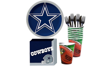 NFL Dallas Cowboys Party Supplies Decorations Party Favors – Dallas Cowboys Party Invitations