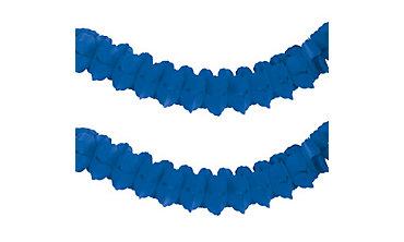 Royal Blue Paper Garland