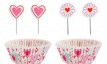 Sweetheart Cupcake Decorating Kit