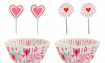 Sweetheart Cupcake Decorating Kit