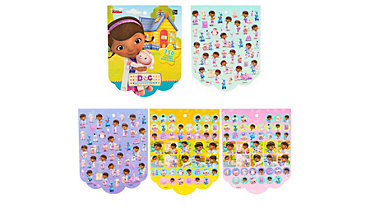 Jumbo Doc McStuffins Sticker Book 8 Sheets