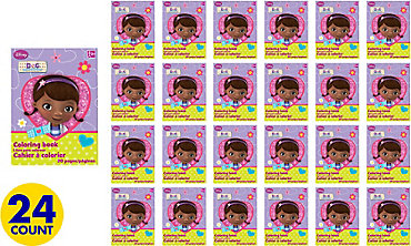 Doc McStuffins Coloring Books 24ct