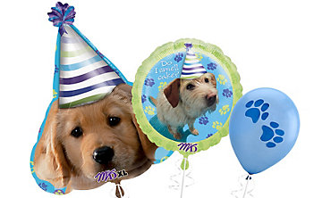 Party Pups Themed Balloons