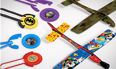 Glider & Disc Shooter Party Favors