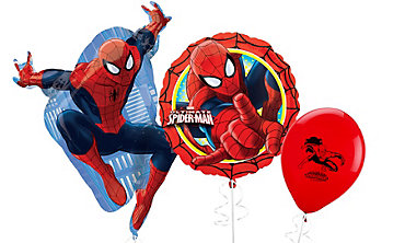 Spider-Man Themed Balloons