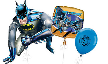 Batman Themed Balloons