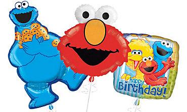 Sesame Street Balloons