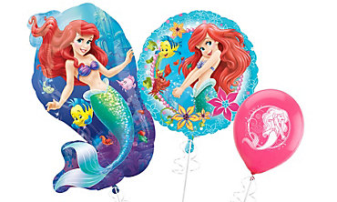 Little Mermaid Ariel Themed Balloons