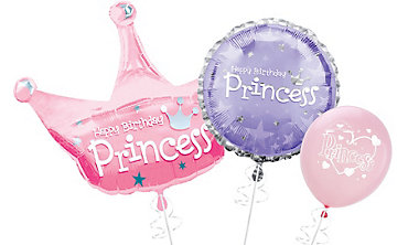 Princess Themed Balloons