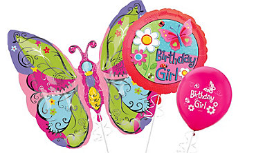 Garden Girl Themed Balloons
