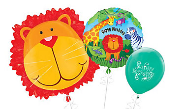 Jungle Animals Themed Balloons