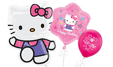 Hello Kitty Themed Balloons
