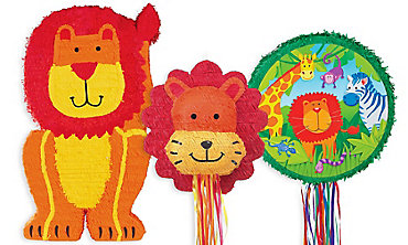 Jungle Animals Pinatas