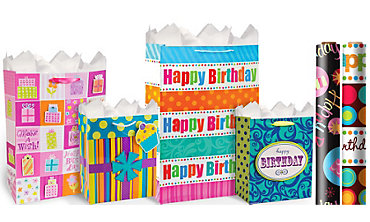 Happy Birthday Gift Bags & Wrap