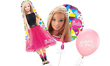 Barbie Themed Balloons