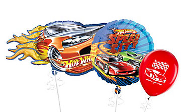 Hot Wheels Themed Balloons