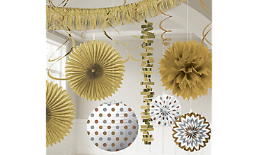 Gold Decorations
