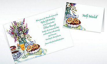 Custom Bagel Brunch Invitations & Thank You Notes