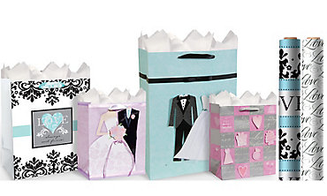 Wedding Gift Bags & Wrap