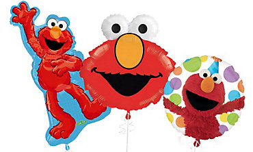 Elmo 1st Birthday Balloons